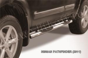 NISSAN PATHFINDER (2011)-Пороги d76 с проступями